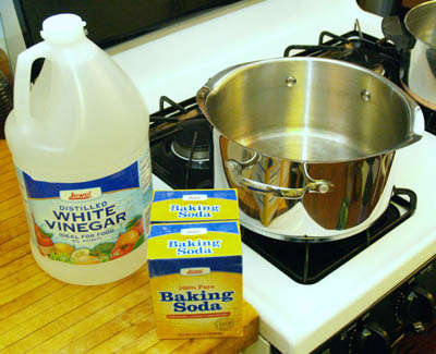 White Vinegar And Baking Soda Our Allies For Cleaning