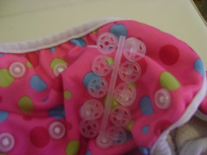 Repairing a washable nappy