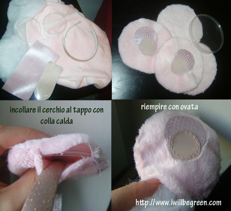 Tutorial paraorecchie DIY