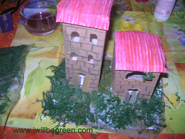 Presepio Fai Da Te Le Casette I Will Be Green